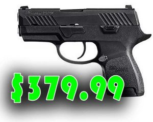 Daily Gun Deals : Sig Sauer P320 Sub-Compact Handgun 9mm $379.99