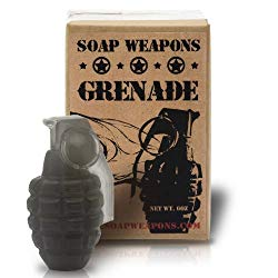 Shower With A Soap Grenade