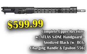 Daily Gun Deal : Aero M4E1 ATLAS S-ONE Complete Upper, Save $150.00