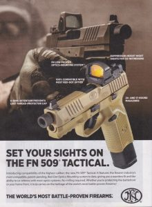 FN 509 Tactical Is Ready For Anything