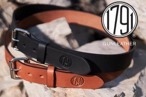 1791 Gunleather offers new leather gun belt models