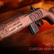 "Auto Ordnance Debuts a NEW Custom ""Vengeance"" WWII M1 Carbine"