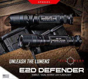 SureFire Introduces New E2D Defender – Unleash the Lumens