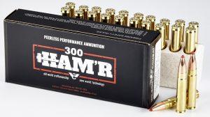 Wilson Combat 300 HAM'R ammo now shipping