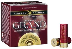 Federal Premium adds paper hull shotgun shells to Gold Medal Grand series