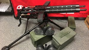 Freedom Defense Tactical's crank operated dual AR is a beast! (VIDEO)
