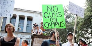 Op-Ed Describes The Success of Texas Campus Carry Law