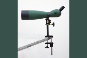 FW Arms New Best Bench Mount Spotting Scope Stand Clamps To Your Shooting Bench