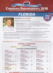 2018 NRA Endorsements Florida