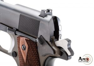 Apex introduces performance hammers for the 1911