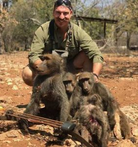 Idaho official resigns after killing family of baboons on hunting trip
