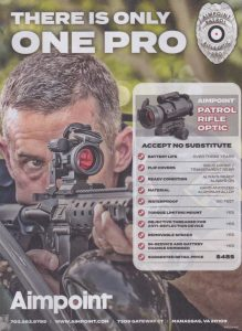 Unlimited Eye Relief With Aimpoint's Patrol Rifle Optic Pro