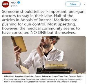 Bloody Gunquack Meltdowns on Twitter Show Motives about Agenda, Not Science