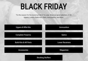 Deal Alert: Black Friday and Cyber Monday Gun and Ammo Deals 2018