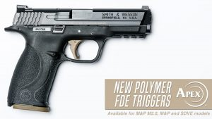 Apex introduces new FDE trigger options for Smith & Wesson pistols