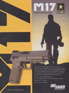 The Official Sidearm of the U.S. Army