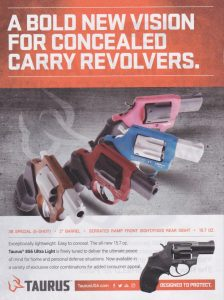 A Colorful Six Shooter For Concealed Carry