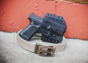 How a good gun belt lightens the load in concealed carry