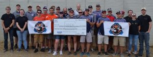 Glock hands over $25K check to Scholastic Action Shooting Program