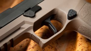 Keres Dynamics releases mag release, adjustable triggers for Sig Sauer P320