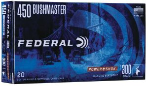 Federal Ammunition offers new loads in .450 Bushmaster
