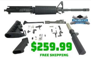 Daily Gun Deals: PSA M4 Carbine Length 5.56 Nitride Freedom Rifle Kit $259.99 FREES&H