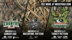 America's No. 1 Deer, Turkey & Waterfowl Mossy Oak Patterns Displayed at SHOT Show