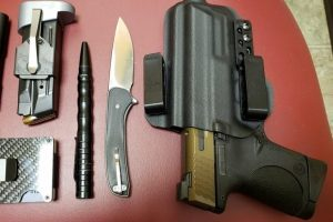 M&P and a Tactical Pen: Everyday Carry Pocket Dump of the Day