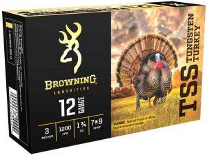 Browning's New TSS Tungsten Turkey Shot