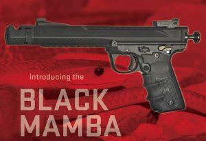 Volquartsen debuts new Black Mamba series of competition-ready .22LR pistols