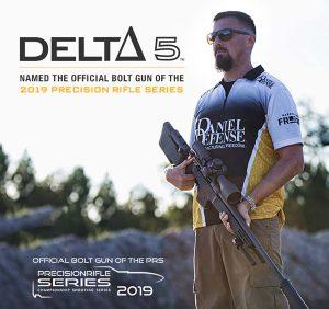 Delta 5 named official bolt gun of 2019 Precision Rifle Series