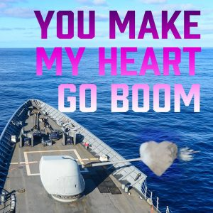 Navy spreads the love on Valentine's Day with sharable cards (PHOTOS)