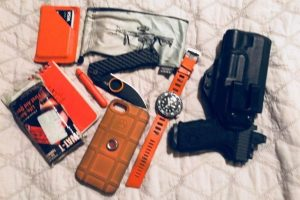 Orange Life: Everyday Carry Pocket Dump of the Day