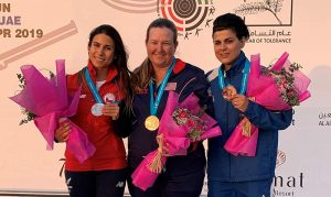 Kim Rhode Nabs 20th World Cup Gold Medal of Career