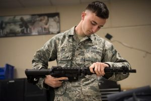 USAF Shows off New Aircrew Takedown Bailout Rifles