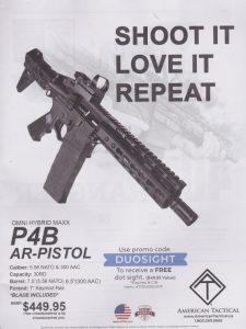 Omni Hybrid Maxx AR-Pistol