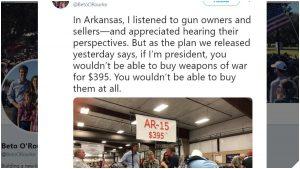Beto O'Rourke on AR15s: You Won't Be Able to Buy Them At All