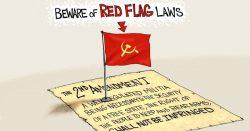 Seeing Red – A.F. Branco Cartoon