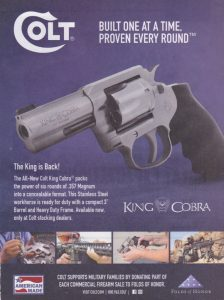 All Hail King Cobra: The Classic Handgun Returns