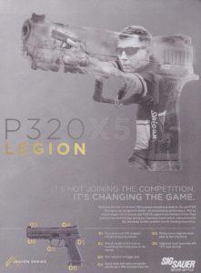 Sig Sauer P320X5 Legion