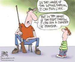 Gun–Grabbers Shoot Themselves in the Foot