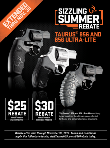 Taurus 856 Rebate: Your Every Day Carry Revolver