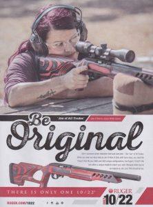 Jen O'Hara's Ruger 10/22 Target Lite