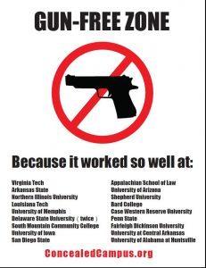 Self Defense Tips In Gun-Free Zones