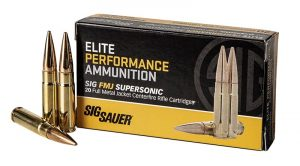 Sig Sauer Releases .300 BLK FMJ Ammo for Rifle Shooters