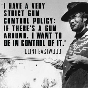 Clint Eastwood Likes Bloomberg Hates Guns