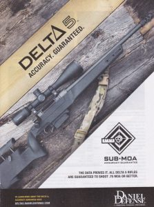 Delta 5 Is Guaranteed To Shoot .75 MOA Or Better