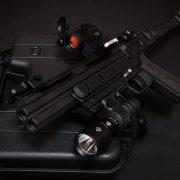 Czech Detonics GLADIATOR Double-Barreled Muzzleloading and 410 Bore Shotguns
