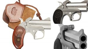 Bond Arms Grows Rough Series of Double-Barrel Handguns