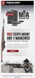 M1A Promo: FREE Scope Plus Two Magazines